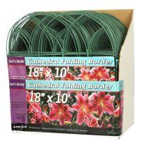 Plůtek zahradní 45cmx3m kov/PH (7ks) zelená