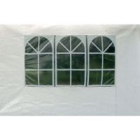 Stěna k altánu 34805, 275/295x195cm s okny (2ks)