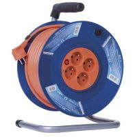 EMOS kabel prodlužovací 50m 4zas.1,5mm buben P19450
