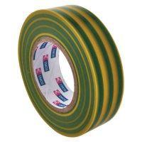 EMOS izolační páska PVC 19mm / 20m zelenožlutá, 10 ks F61925