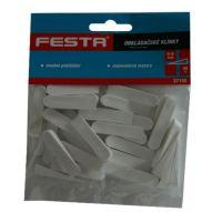 Klíny obkladačské plastové 0 - 8 mm, 30 ks 137155