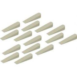 TOPTRADE klínky spárovací, plastové, velké, 100 ks, 0  10 mm