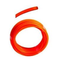 Struna 2,4 mm x 15 m kulatá oranžová