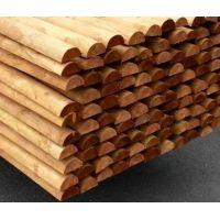 Dřevěný kůl  6/250 cm půlený impregnovaný