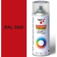 Sprej PRISMA RAL3020 dopravní červená