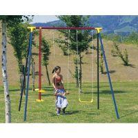 Houpačka dětská 250x180x200cm, 1xhoupačka+2xsedačka