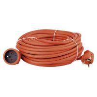 EMOS Prodlužovací kabel  spojka 30m, oranžový P01130